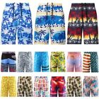 Mens Funny Swim Trunks Quick Dry Summer Surf Beach Board Shorts with Mesh Lining