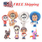 COCO Miguel Hector Rivera Dog Action Figrue Toys Cake Topper Gift 8 PCS US STOCK