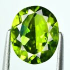 2.95 CTS  FINE QUALITY PARROT GREEN NATURAL PERIDOT FROM PAKSITAN GEMS