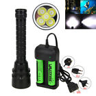 Внешний вид - Underwater 200m 20000Lm 5x XM-L T6 LED Scuba Diving Flashlight Fishing Torch K