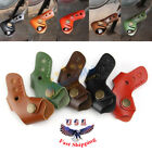 Leather Gear Lever Shifter Protector Cover For Cafe Racer Yamaha YZF Motorcycle