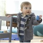Infant Baby Jackets Autumn Winter Boys Coats Kids Warm Hooded Outerwear Clothes