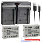 Kastar Battery Dual Charger for Canon NB-10L CB-2LC & Canon PowerShot SX40 HS