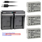 Kastar Battery Dual USB Charger for Canon NB-10L CB-2LC & Canon PowerShot G1 X