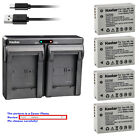 Kastar Battery Dual USB Charger for Canon NB-10L CB-2LC Canon PowerShot SX60 HS