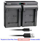 Kastar Battery Dual USB Charger for Canon NB-10L CB-2LC & Canon PowerShot G15