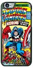DC Comic Captain America MadBomb Phone Cover Case for iPhone Samsung HTC LG iPod