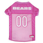 Chicago Bears NFL Pets First Licensed Dog Pet Mesh Pink Jersey XS-L NWT $27.97 USD on eBay