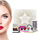 Beauty Advent Calender Vanity Case Cosmetic Sets Gift Make Up Box Xmas Storage