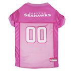 Seattle Seahawks NFL Officially Licensed Pets First Dog Pet Pink Jersey XS-L $31.96 USD on eBay