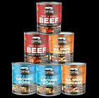 CERTAIN FOODS SIX-28 OZ CANS Canned Meat Food Storage Emerge