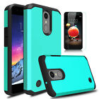 For LG Rebel 4 LTE/Phoenix 4/Fortune 2/Zone 4 Case Cover / HD Screen Protector