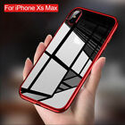 For iPhone XS Max XS X Ultra Thin Shockproof Protective Hybrid TPU Clear Case