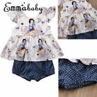 Hot Emmababy Baby Girl Vest Tops Shorts Briefs+T shirt 2pcs