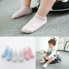 3pair Spring Newborn Baby Sock Cute Boy Girl Children Cotton Slip Bottom Socks