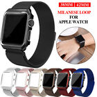 Stainless Steel Magnet Loop Band Strap For Apple watch 1 2 3 iWatch Band 38/42mm image