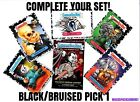 "2018 Garbage Pail Kids The HORROR-IBLE ""PICK-A-SINGLE"" BRUISED/BLACK PARALLEL"