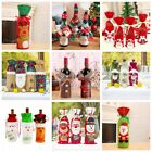 Внешний вид - Xmas Wine Bottle Bag Merry Christmas 2018 Gift Santa Claus Sequins Decorations