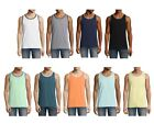 MUSCLE SHIRT TEE TANK TOP SLEEVELESS CREW NECK CLASSIC GYM STYLE XS S M L XL XXL image