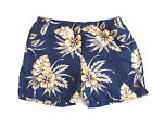 Tommy Bahama Relax Men's Swim Trunks XXL Floral Blue Orange