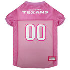 Houston Texans Licensed NFL Pets First Dog Pet Mesh Pink Jersey Sizes XS-L $27.97 USD on eBay
