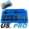 US PRO Tools 9pc Glow Plug Bore Reamer And Cleaner Set NEW 5873