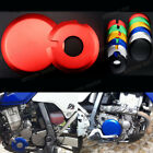 CNC Protect Engine Ignition Clutch Cover Case Guards Set For Kawasaki KLX400 03
