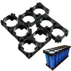 10PCS 18350/18500/18650  Battery 1X2 Cell Spacer Radiating Shell Holder SALE