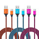 USB Type C 6ft, CIQILY 3-Pack Long Braided Fast C Charger Cord for Samsung Galax