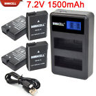 EN-EL14 ENEL14 Battery+Charger For Nikon D3100 D3200 D3300 D5100 D5200 D5300 EG