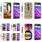 For Motorola Moto G 3rd Generation XT1548 Hard Fitted 2 Piece Snap On Case White