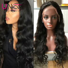 "180% Density 360 Lace Frontal Wig Pre Plucked With Baby Hair 10""-24'' Body Wave"