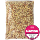 SQUAWK Split Peanuts - Wild Bird Premium Grade Garden Birds Fresh Food Mixture
