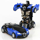 Magic Cartoon Robot Sports Kids Transforming Car Electronic Game Toddler Toys