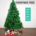 Green 5/6/7 Feet PVC Artificial Christmas Tree Xmas Pine Holiday Season w/Stand