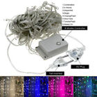 1X LED Icicle String Lights 5M 216LEDs Christmas Xmas Fairy Lights Outdoor Home