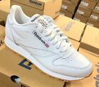 Reebok Classic Leather 49797 White Gum Sole Casual Mens Shoes Sneakers Sizes