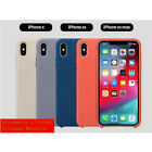 Luxury Original Silicone Phone Cover Ultra-Thin Back Case For i Phone XS Max XR
