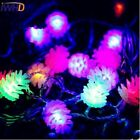IWHD 10M Pine Nuts LED Christams Lights New Year LED String Fairy Light For Garl