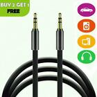 2m 3.5mm Male Plug To Aux Jack In Cable Audio Lead Cord For Car Wire Headphone