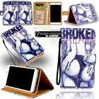 For Cubot P 5/6/7/9/10/11/12 - Leather Stand Flip Wallet Cover Mobile Phone Case