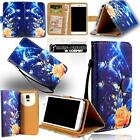Leather Stand Flip Card Wallet Cover Mobile Phone Case For Alcatel Pixi Models