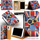 Leather Stand Flip Card Wallet Cover Mobile Phone Case For Microsoft Lumia Phone