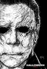 Halloween Movie Poster Horror Michael Myers 2018 NY Comic Con Print Jamie Curtis