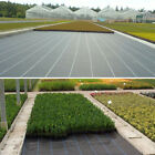 3M/4M Mulch Fabric Garden Landscape Membrane Ground Cover Weed Control 100gsm