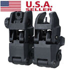 Kyпить Tactical Folding AR Front And Rear Flip Up Backup Sights MBUS Set 223 5.56 на еВаy.соm