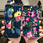 Retro Flower Birds Ring Holder Stand Hybrid For iPhone XS MAX XR 6 6S 7 8 Plus X