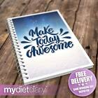 WEIGHT WATCHERS COMPATIBLE FOOD DIARY - Make Today Awesome (W031W) 12wk diet