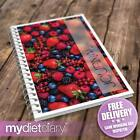 WEIGHT LOSS DIARY - Berries (G003W) 12wk notebook diet food diary weight loss