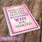 SLIMMING WORLD COMPATIBLE DIET DIARY - Feel Like Quitting(S013W) 12wk food diary